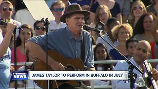 James Taylor and Bonnie Raitt to perform in Buffalo - Video