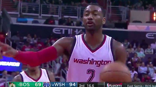 "John Wall Calls Celtics Player a ""Hoe"" During Free Throw - Video"