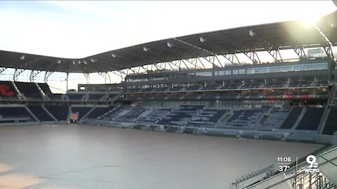 Look inside West End Stadium as construction nears completion