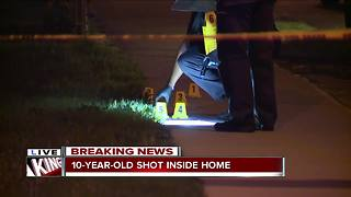 10-year-old shot on Cleveland's east side - Video