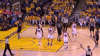 Steph Curry, Draymond Green & Zaza PaGOONia React to Foul Perfectly in Sync - Video