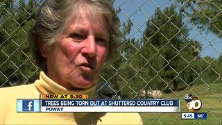 Fight erupting over closed golf course