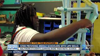 STEM program providing Baltimore middle schoolers with life skills