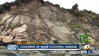 Concerns about new flooding and damage