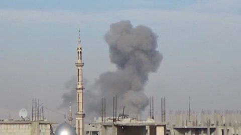Nearly 200 Civilians Killed By Regime Airstrikes In Damascus Suburb