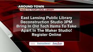 Around Town 8/9/17: Local Libraries - Video