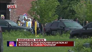 Police investigate possible active shooter at building in Huron Township