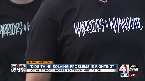 KCK school teams up with community to stop violence, keep students safe