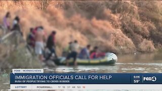 Immigration officials call for help