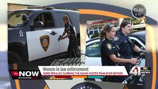 Lenexa PD is trying to inspire women to join force - Video