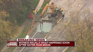 Water main break puts 12 Oakland County cities under Boil Water Advisory - Video