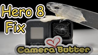 GoPro Hero 8 Lens Replacement with Butter