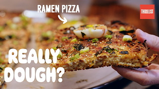 Ramen Pizza: Is it Actually Pizza? - Video