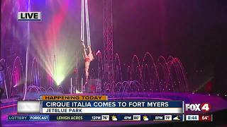Cirque Italia comes to Fort Myers - Video