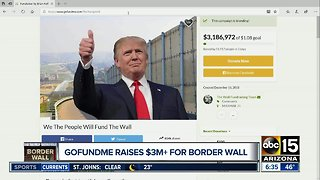 GoFundMe campaign created to fund border wall