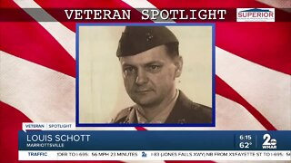 Veteran Spotlight: Louis Schott of Marriottsville
