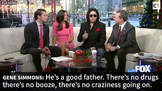 Gene Simmons Tells Trump-Haters to Get Over It - Video