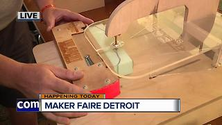 Making Race cars at the Maker Faire - Video