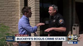 Buckeye officials no longer willing to stand by low crime stats after ABC15 investigation