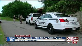 Body found near Tulsa County Jail - Video