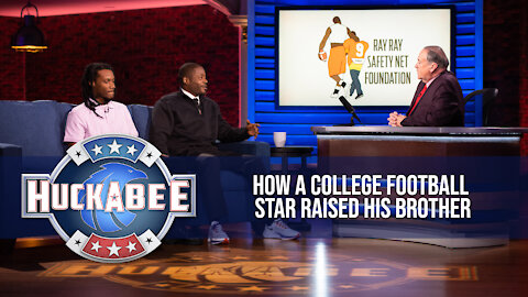 How A College Football Star Raised His Brother | Ray & Fahmarr McElrathbey | Jukebox | Huckabee