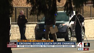 Crossing guard's death spurs changes