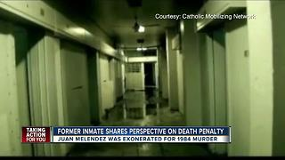 Wrongly-convicted Death Row inmate speaks out - Video