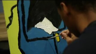 Plymouth artist is giving back to youth through art