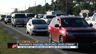 Residents fight zoning change over traffic woes - Video