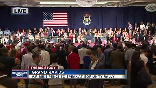 Snyder not appearing at Republican Unity rally; Does MI GOP face rift in wake of primary? - Video