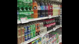 Grocery store product placement - Video