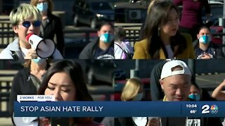 Tulsa community holds 'Stop Asian Hate' rally
