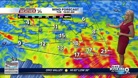 April's First Warning Weather November 12, 2018