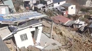 Dozens of Homes Destroyed in Tijuana Landslide - Video