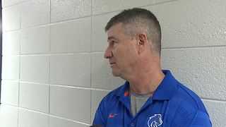 Leon Rice on loss to Utah State - Video
