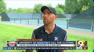 Local colleges answer Houston coach's request for donations - Video