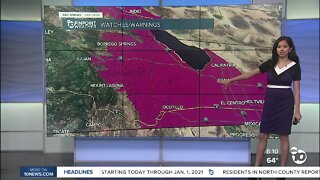 ABC 10News Pinpoint Weather for Sun. Aug. 2, 2020