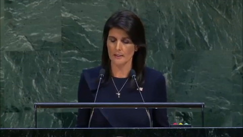 Nikki Haley To United Nations: You're Not America's Boss