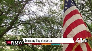 Lenexa Boy Scout troop retires American Flags with honor - Video