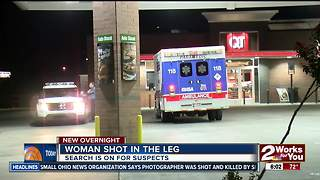 Woman shot in leg in east Tulsa