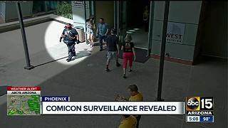 VIDEO: Armed man walks into Phoenix Comic-Con - Video
