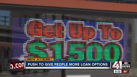 Leaders working to fix payday loan problem