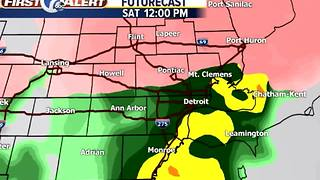 Metro Detroit Forecast: Winter Storm Warning starts tomorrow - Video