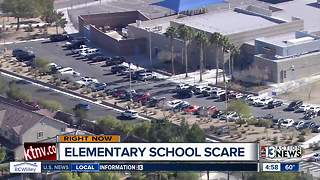 School evacuation turns out to be false alarm - Video