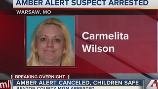 Update: AMBER Alert canceled for two children abducted in Warsaw, Mo. - Video