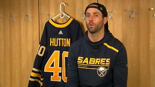 One-on-one with new Sabres goaltender Carter Hutton