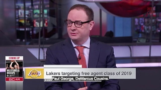 "Lakers ""Reluctant"" To Sign Lebron James - Video"