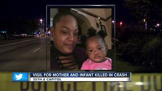 Man arrested in fatal Milwaukee crash that killed mother and baby - Video