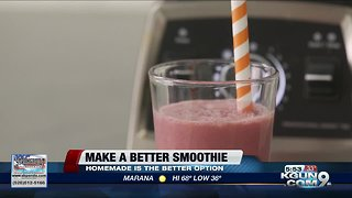 Consumer Reports: Making a better smoothie