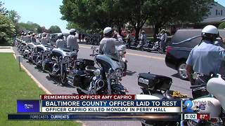 Remembering Officer 1st Class Amy Caprio - Video